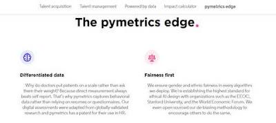 The pymetrics edge