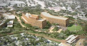 NEW US EMBASSY TO OPEN NEXT MONTH