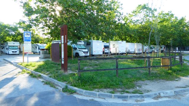 Àrea d'autocaravanes de Vilafranca de Penedès
