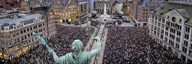 عيد التحرير و احياء ذكرى ضحايا الحرب العالمية الثانية في هولندا