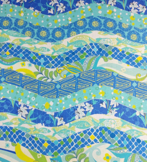 Kiamesha fabric by Crystal Manning for Moda Fabrics
