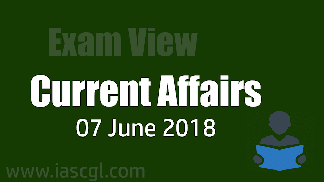 Current Affair 07 June 2018
