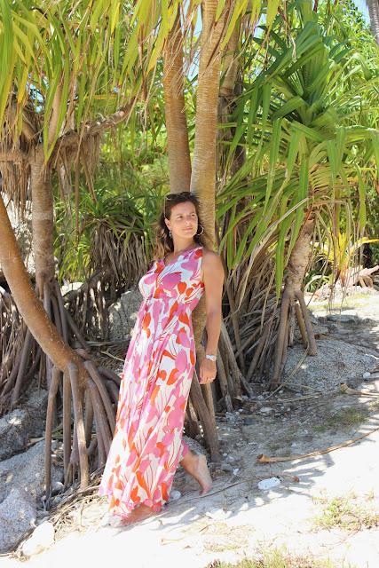 Bon Island, Rawai, Thaïlande, voyages, les petites bulles de ma vie, robe mango