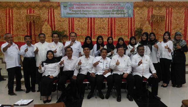 Tantangan Forum Kabupaten Sehat  Padang Pariaman Makin Berat