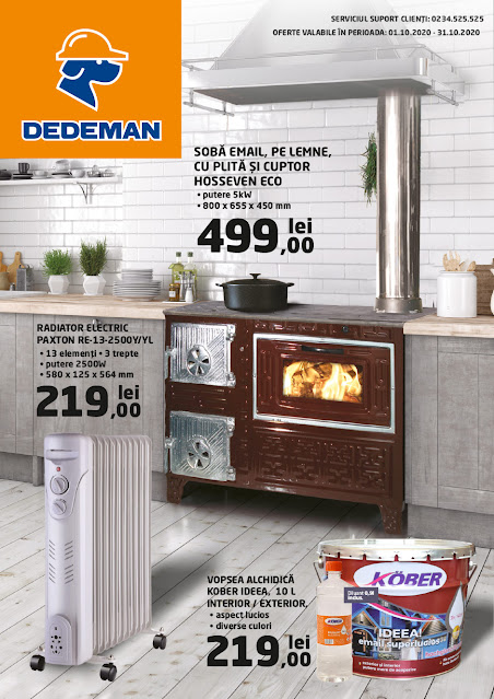 DEDEMAN Catalog - Brosura 1-31.10 2020→ ONLINE SHOPPING