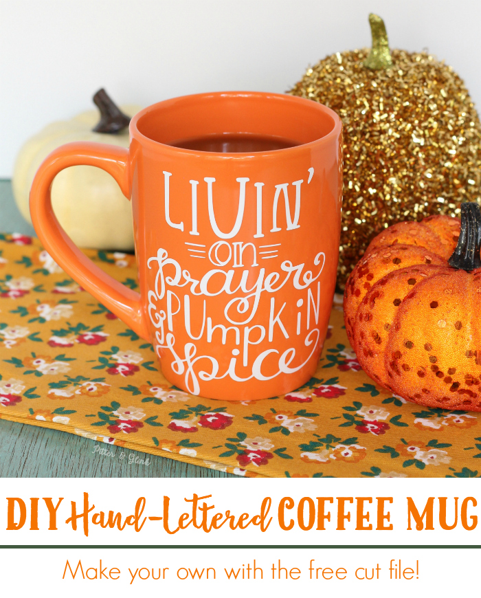 DIY Prayer and Pumpkin Spice Mug