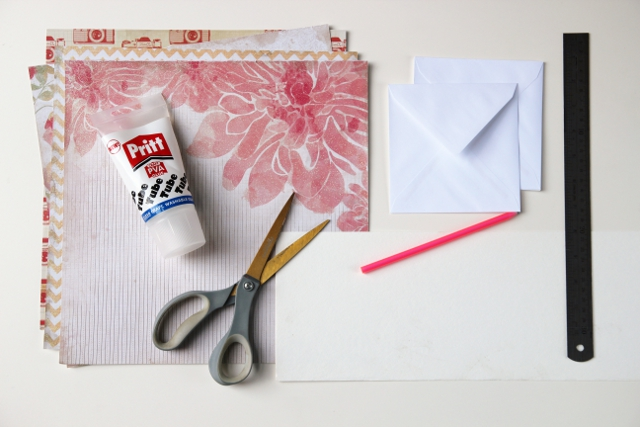 Materials needed to make Diy Envelope Liners