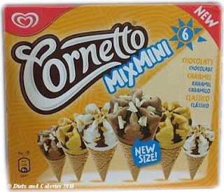 Cornetto Mix Mini Ice Cream Box