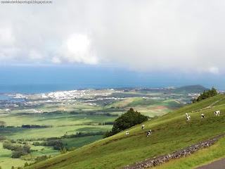 PORTUGAL / Miradouros da Serra do Cume, Ilha Terceira, Açores, Portugal