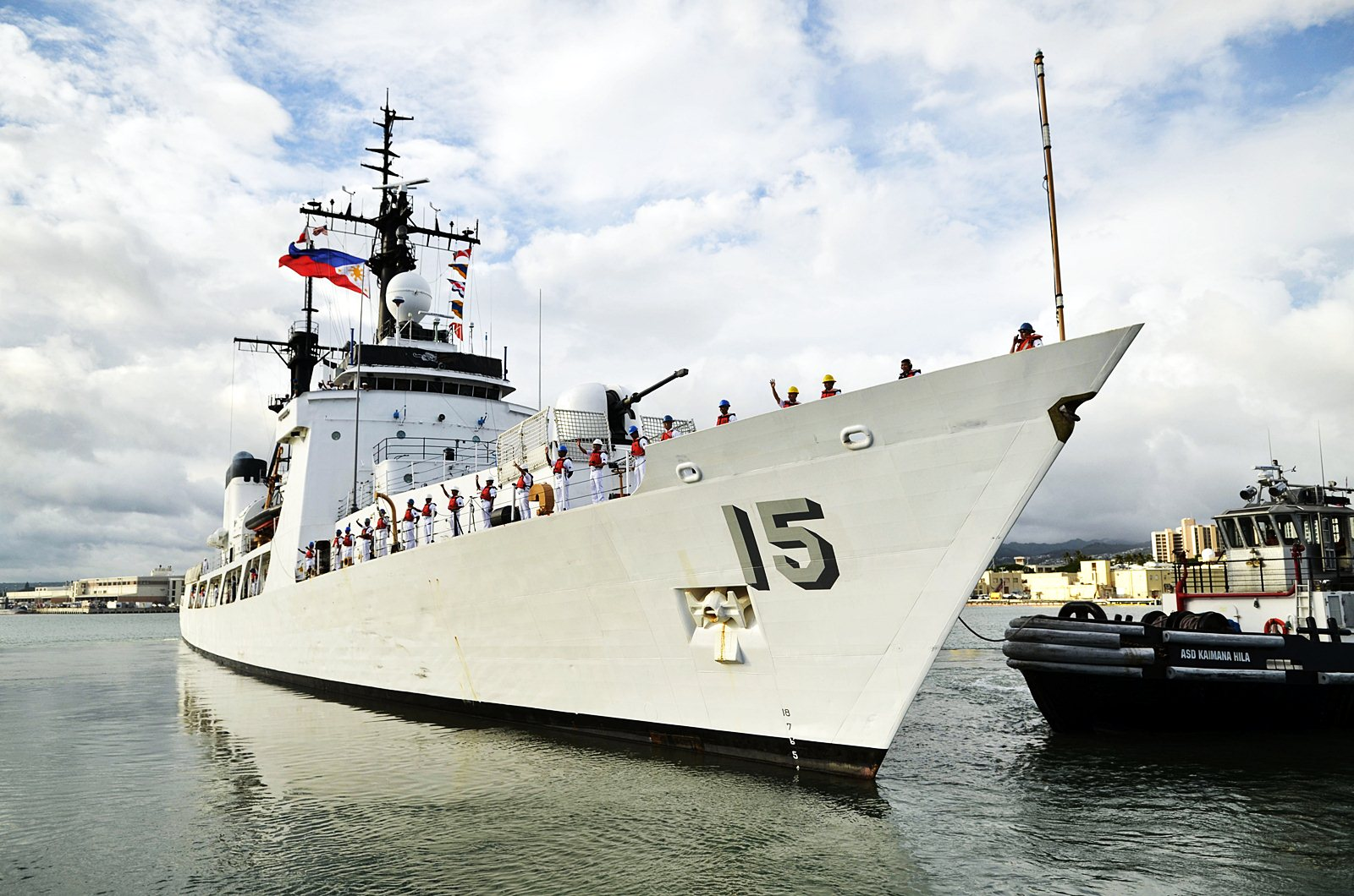 Philippine Navy Launches Brp Del Pilar Brp Tagbanua For Spartlys