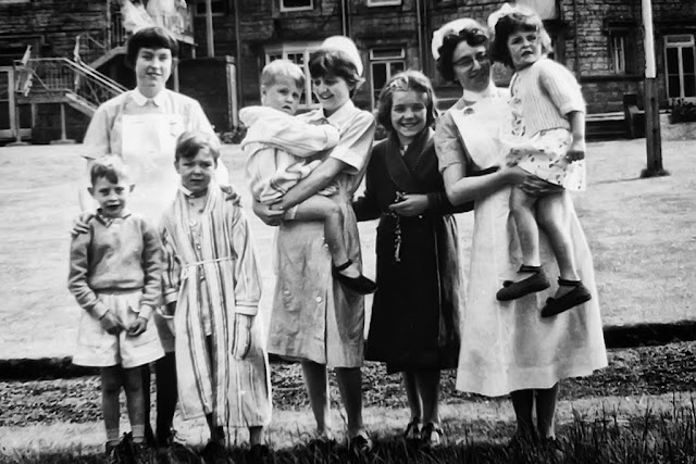 Nurses & Children At The Old Whitehaven Hospital (Castle)