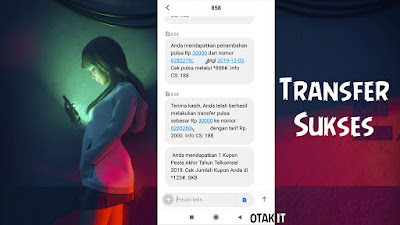 Cara Transfer Pulsa Telkomsel via Aplikasi MyTelkomsel