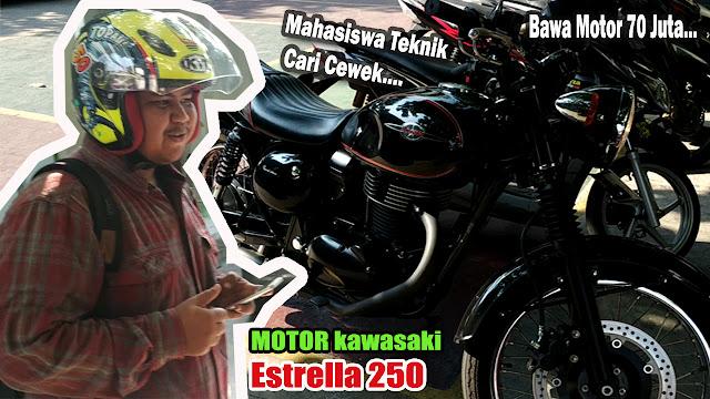 Kawasaki Estrella 250 di semarang