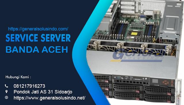 Service Server Banda Aceh Resmi dan Profesional