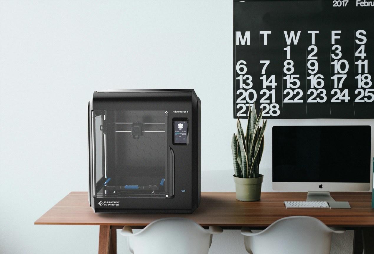 Flashforge Announced New Enclosed FDM 3D Printer - Adventurer 4