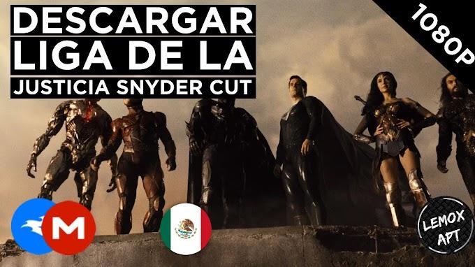 ✅ | Descargar Liga De La Justicia - Snyder Cut (2021) | Latino |  1080P