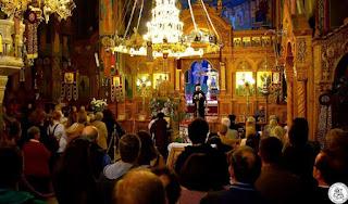 Μεγαλη προσελευση των πιστων στην χαρη της θαυματουργου εικονας της Παναγιας του Βουλκανου απο την Μεσσηνια