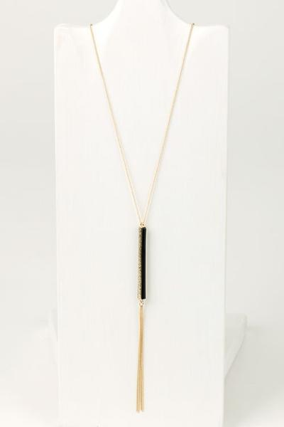Y Tassel Drop Pendant Curves on a Budget for Society+
