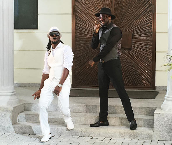 [Music] P-square - Bank Alert