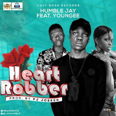 "UGLY BOSS RECORD  presents another brand new song by Humble Jay and Youngee titled ""Heart Robber"", Produced by PJ JOEKEN,   Heart Robber by Humble Jay is second joint effort after his first release RAW. The song   Production Credits goes to   Joeken,"