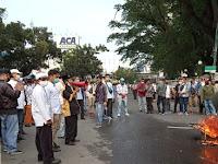 LFPP Geruduk Kantor Gubsu, Menolak Kedatangan Habib Rizieq di Sumatera Utara