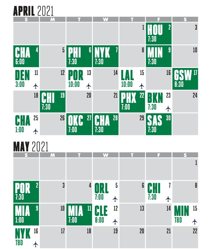 schedule season