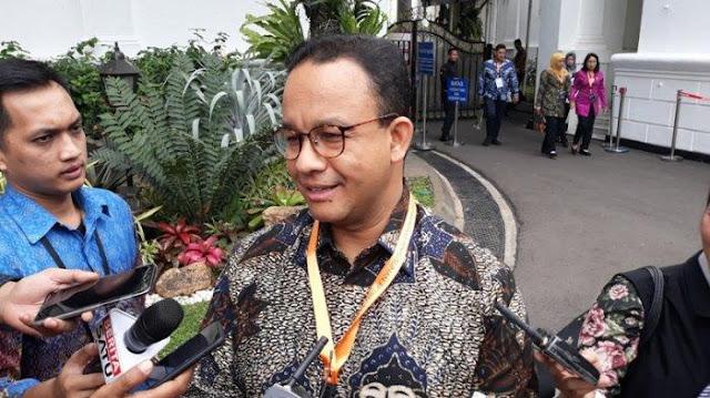 Anies ke Jurnalis di Istana: Jangan Belanja Berita di Sosmed!