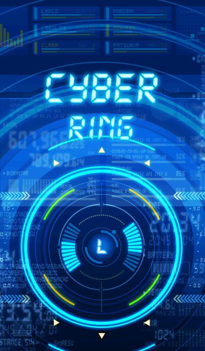 CYBER - RING - [w]