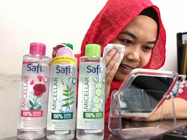 Safi Micellar Natural Cleansing Water
