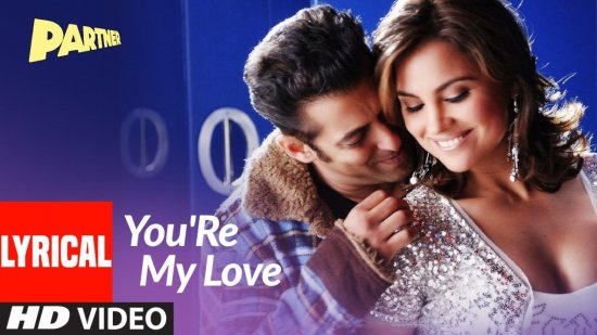 You're My Love Lyrics Partner | Shaan X Shweta Pandit X Suzi Q X Earl | Salman Khan
