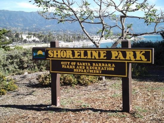 Informações sobre o parque Shoreline em Santa Bárbara