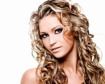 loose perms long hair Correspond to Simplicity