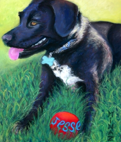 'Jessie Sayz Throw the Ball' by Minaz Jantz