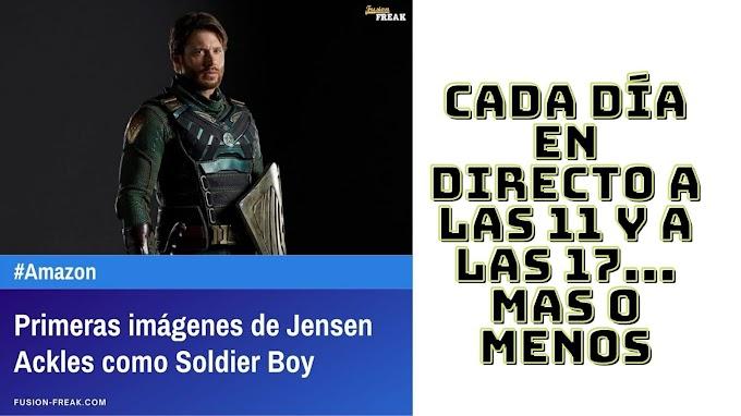 Primeras Imágenes de Jensen Ackles como Soldier Boy