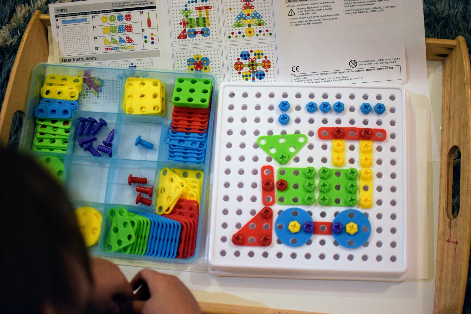 , Chad Valley Mosaic Building Kit Review + Win a £75 Argos Voucher
