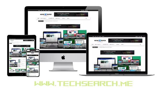Pixi Newspaper X-Tech Search