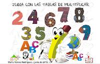 JUEGA Y REPASA LAS TABLAS DE MULTIPLICAR 5º Y 6º