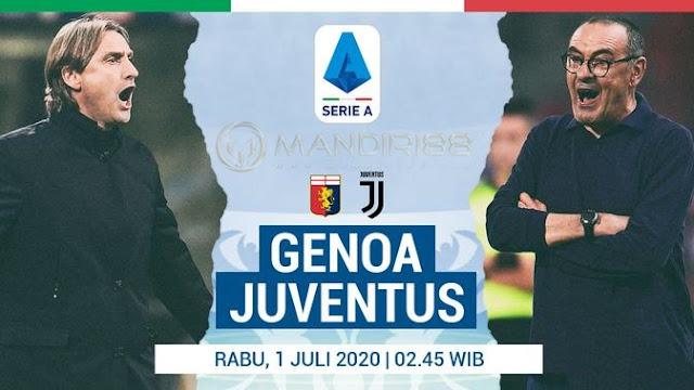 Prediksi Genoa Vs Juventus, Rabu 01 Juli 2020 Pukul 02.45 WIB @ RCTI