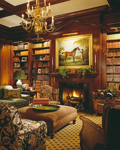 Old Study Room Design: Eye For Design: Equestrian Chic Interiors