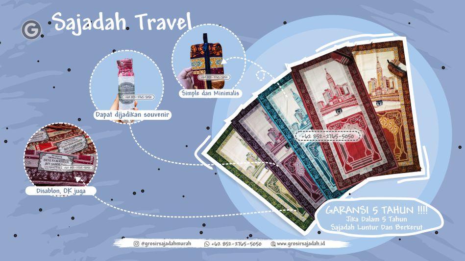 sajadah travel, sajadah travelling, +62 852-2765-5050