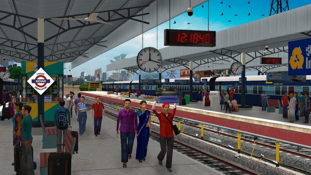 Game Kereta Api Terbaik di Android Indian Train Simulator