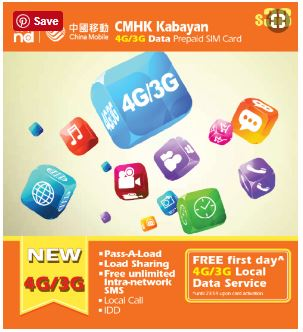 CMHK Kabayan Internet Data Packs 4G/3G