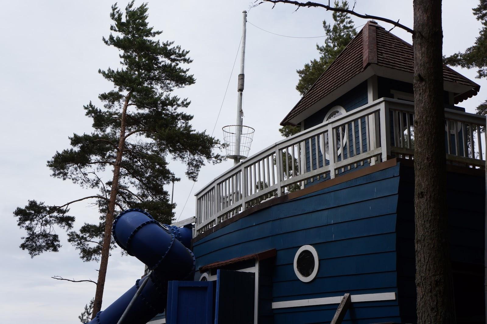 moomin world finland moominpappas boat