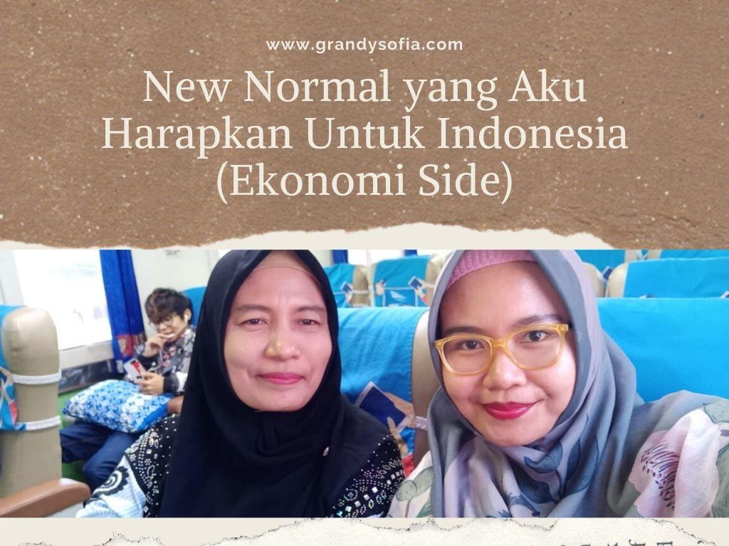 Adaptasi kebiasaan baru dari sisi perekonomian Indonesia