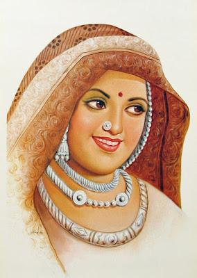 Rani Karmavati wife of Maharana Sangram Singh