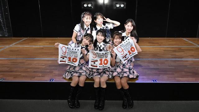 AKB48 '9th Generation 10th Anniversary' 191129 LIVE 1830