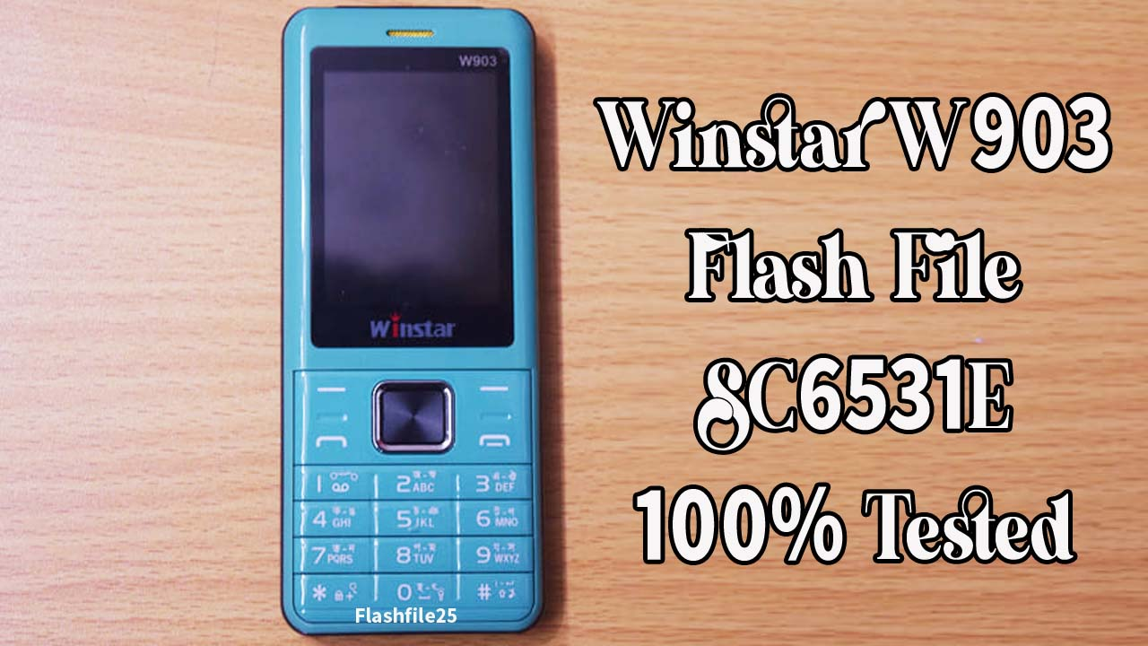 The Winstar W903 Flash File is a tested bin file for any of the feature phone flashing tools