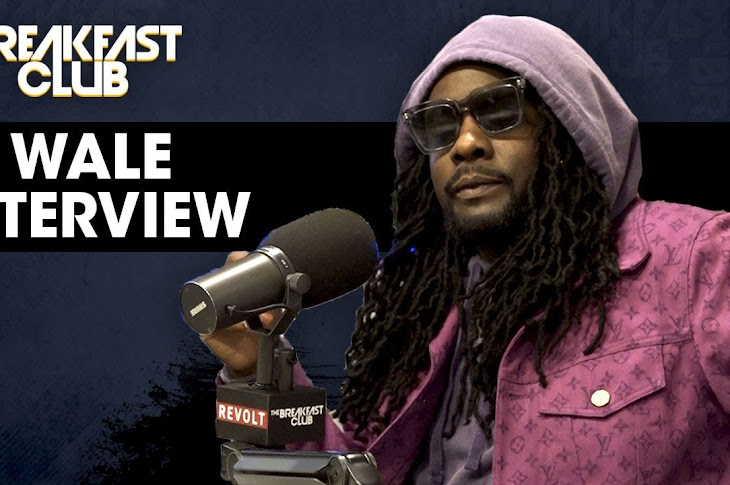 Wale Promotes His New Album On The Breakfest Club