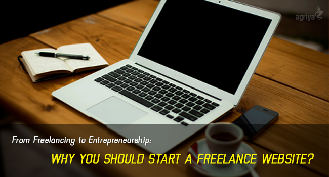 developing freelance website