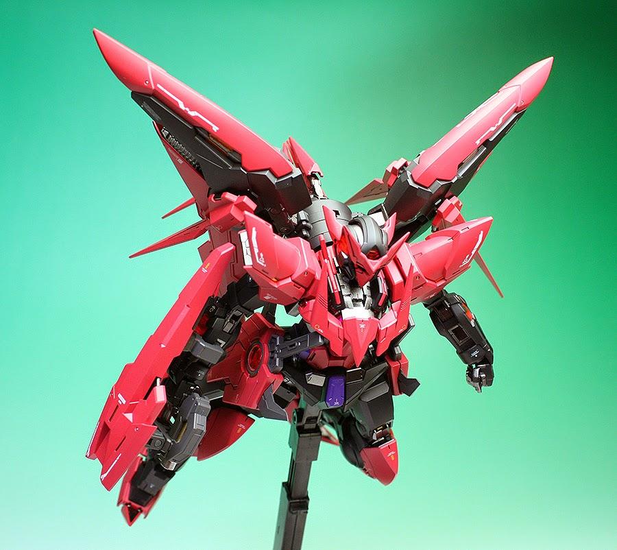 "Custom Build: MG 1/100 Gundam Exia Dark Matter ""Detailed ..."